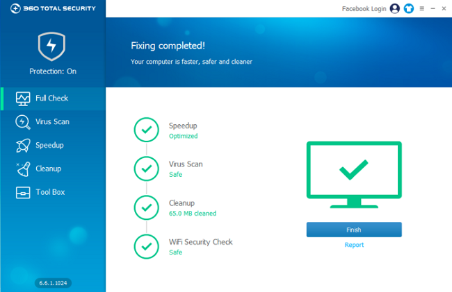 360 Total Security 10.8.0.1382 Crack With License Key 2021 Free Download
