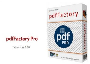 pdfFactory Pro 6.20 Crack + Serial Key Free Download