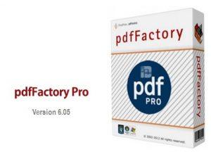 pdfFactory Pro 6.20 Crack + Serial Key Free Download