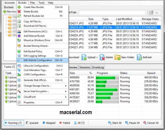S3 Browser Pro 7.6.9 Crack + Keygen