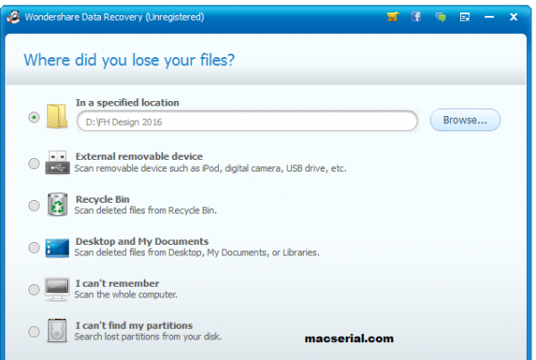 Wondershare Data Recovery 7.0.0 Crack With Full Free Registration Code