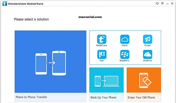 Wondershare MobileTrans 7.8.0 Crack Free Download For Windows