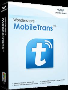 Wondershare MobileTrans 7.9.5 Crack