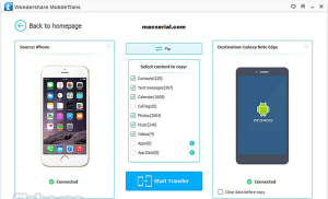 Wondershare MobileTrans 7.9.5 Crack