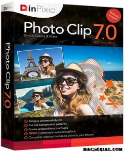 InPixio Photo Clip 8 Crack + Serial Key