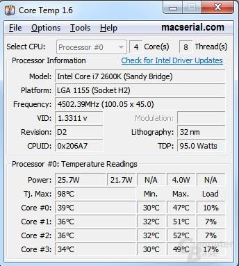 Core Temp 1.10.2 + Portable Latest Free Download