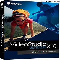 Corel VideoStudio Ultimate X10 Crack + Serial Key Free