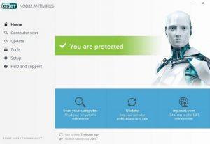 ESET NOD32 Antivirus 11.0.159.0 Crack + License Key Free Download