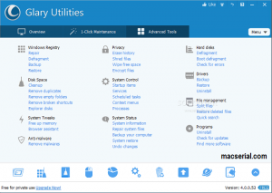 Glary Utilities Pro 5.92 Crack + Serial Key