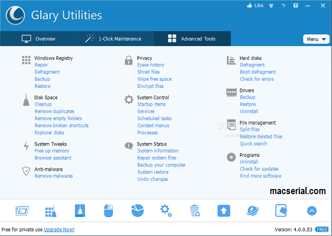 Glary Utilities Pro 5.81 Crack Keys Free Download