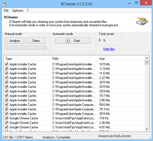 KCleaner 3.2.6.89 + Portable With License Key [Latest] Free Download