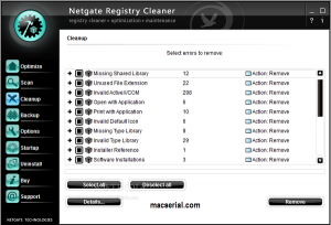 NETGATE Registry Cleaner 18.0.900 Crack With Serial Key Free Download