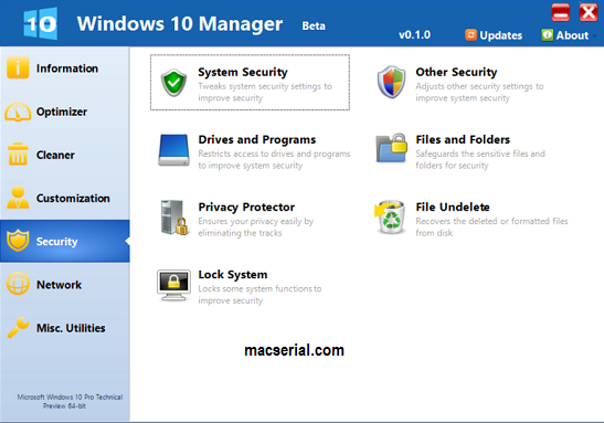 Windows 10 Manager 2.1.4 Crack + Registration Code Free Here!