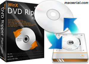 WinX DVD Ripper Platinum 8.6.0.208 Crack + License Key Free Download
