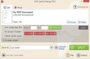 Icecream PDF Split & Merge Pro 3.41 Crack + Serial Key Full Here!
