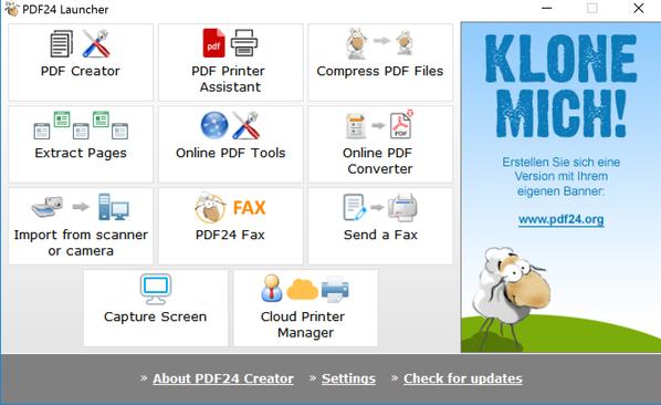 pdf24 pdf creator free download