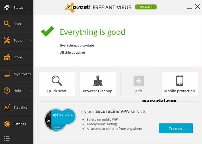 Avast Antivirus 2018 Crack + Activation Code [Premier]