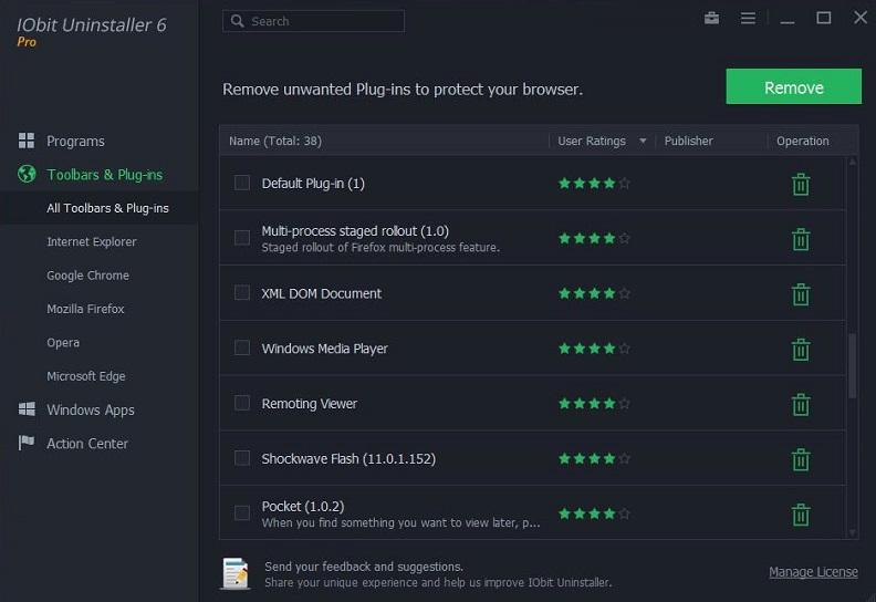 IObit Uninstaller Pro 7.4.0 Crack