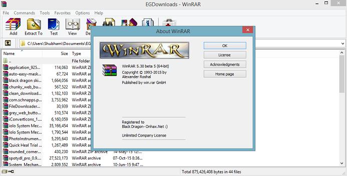 and free winrar keygen download