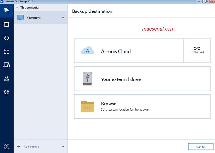 Acronis True Image 2018 Crack + Serial Key Full Version Download