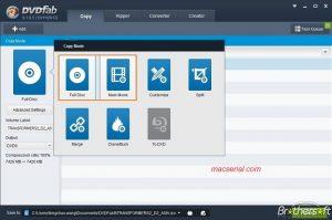 DVDFab HD Decrypter 10.0.7.1 Crack + Registration Key Free Download