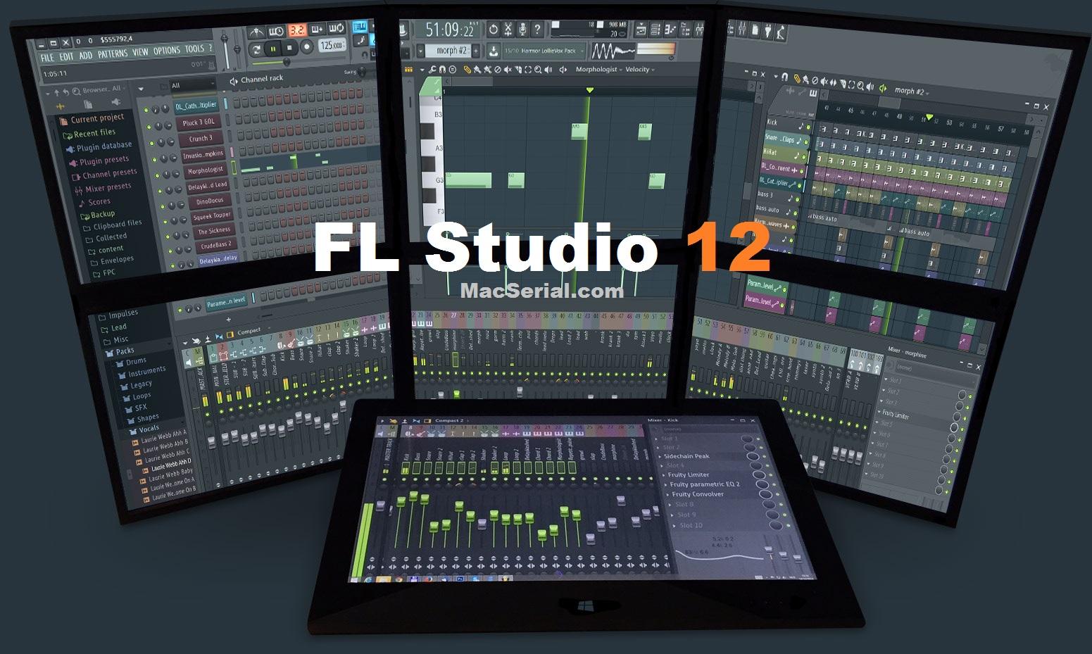fl studio 12 producer edition crack