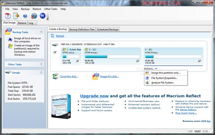 Macrium Reflect Professional 7 Crack + License Key Free Download