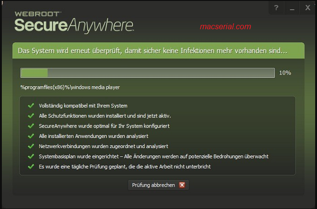 Webroot SecureAnywhere 9.0.18.44 Serial Keys + Crack Free Download
