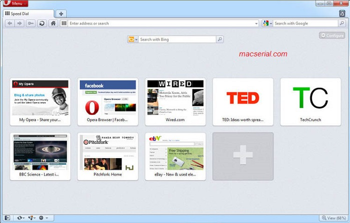 Opera Web Browser 51 Portable