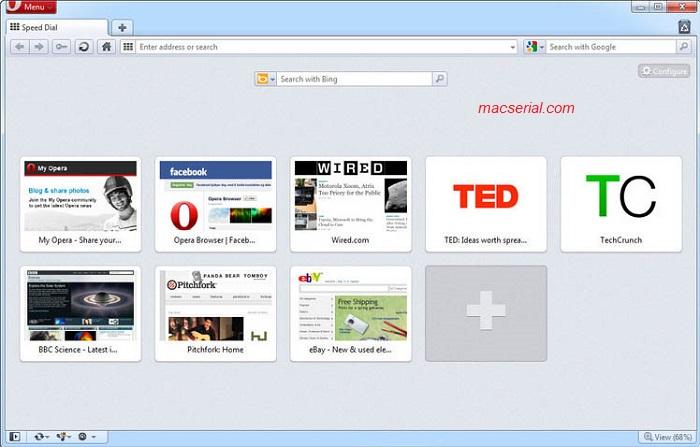 Opera Web Browser 51 Portable