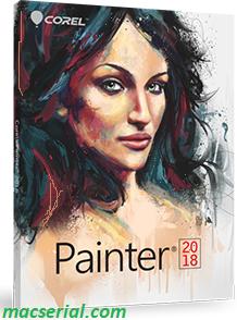 Corel Painter 2018 18.1.0 Crack + Serial Key Full Free Download