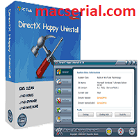 DirectX Happy Uninstall 6.81 Crack