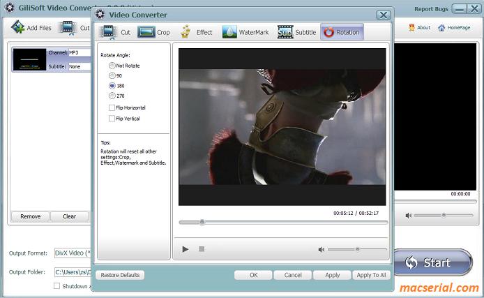 GiliSoft Video Converter 10.1.0 Crack + Serial Key Full Free Download