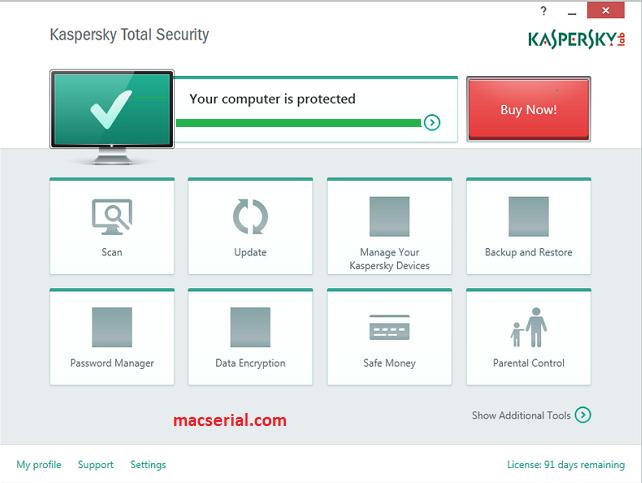 Kaspersky Total Security 2018 Crack + Serial Key [Updated]