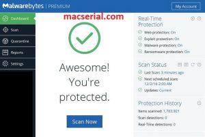 Malwarebytes Anti-Malware 3.5.1.2522 Crack + Serial Key Free Download