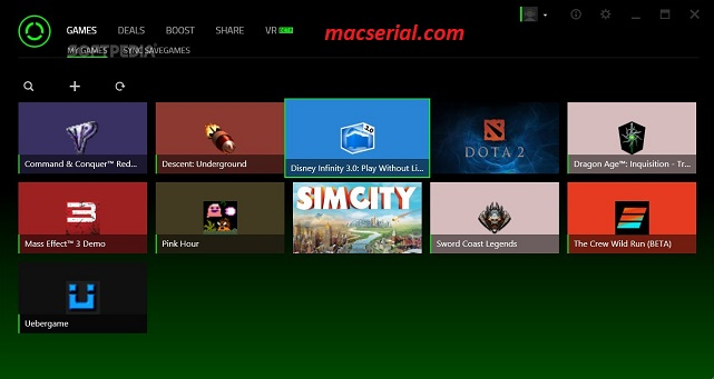 Razer Cortex 8.4.17.561 Crack + License Key Free Download
