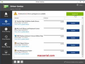 Driver Genius Professional 17.0 Crack + License Key Free Download