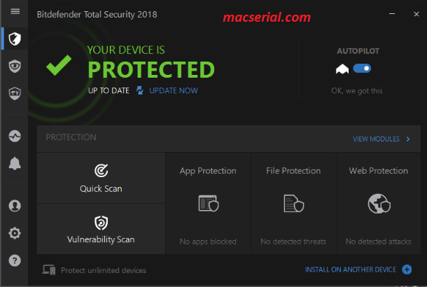 Bitdefender Total Security 2019 Crack & Keygen Free Download