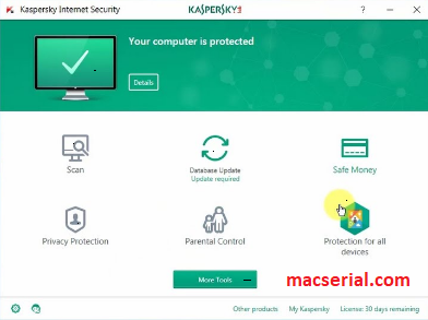Kaspersky Internet Security 2018 Crack + License Key Free Download