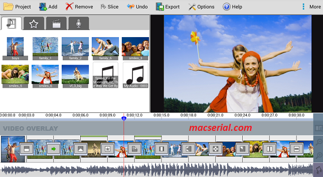 VideoPad Video Editor 6 Crack + Serial Key Free Download