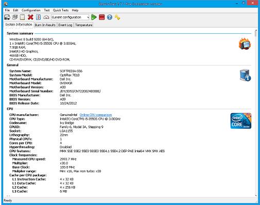 BurnInTest Pro 8.1 Crack + Serial Key Free Download
