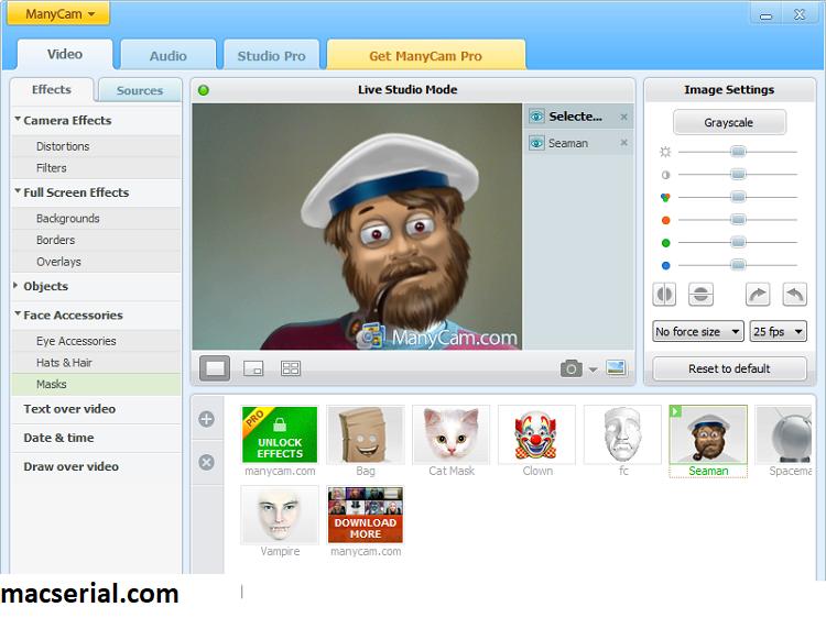 ManyCam Pro 7.1.1 Crack + Keygen Free Download