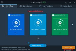 SmartDefrag Pro 5.8.0.1276 Crack + Serial Key Free Download