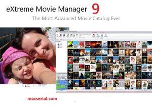 eXtreme Movie Manager 9.0.1.3 Crack + Keygen Free Download