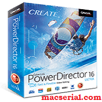 CyberLink PowerDirector 16 Ultra Crack + Serial Key Free Download