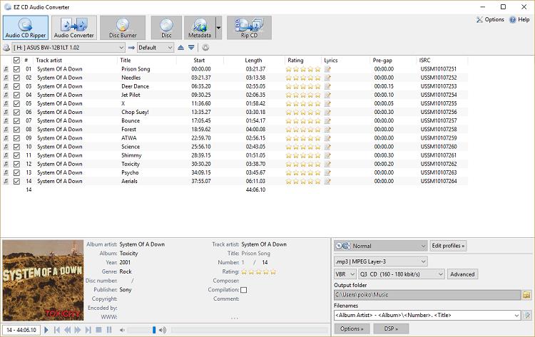 EZ CD Audio Converter 9.1.1.1 Crack + License Key [Ultimate] Latest Free