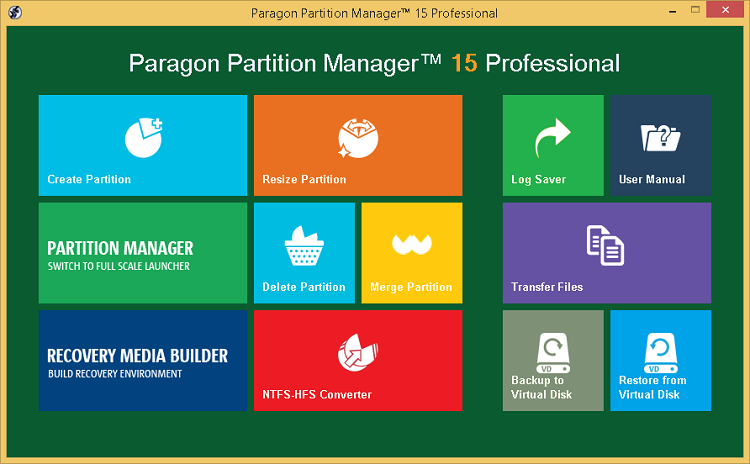 Paragon Partition Manager 15 Professional Crack (x86/x64) Free Here!