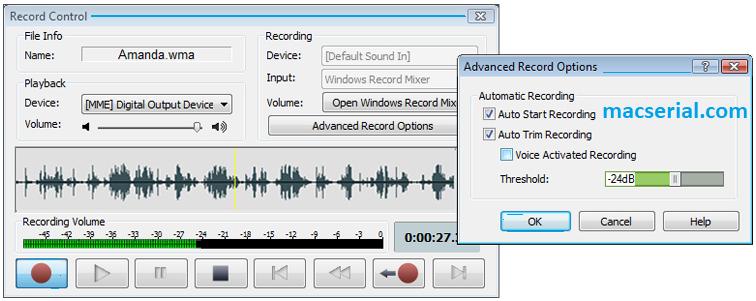 WavePad Sound Editor 8 Crack + Serial Key
