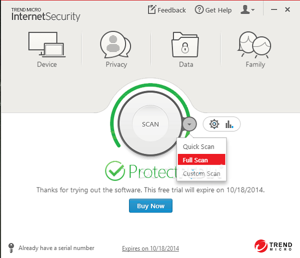 Trend Micro Internet Security 2018 Crack + Serial Number Free Here!
