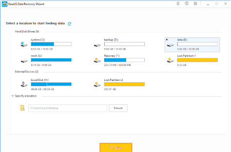 EASEUS Data Recovery 14.4.0 Crack With License Key Free Download
